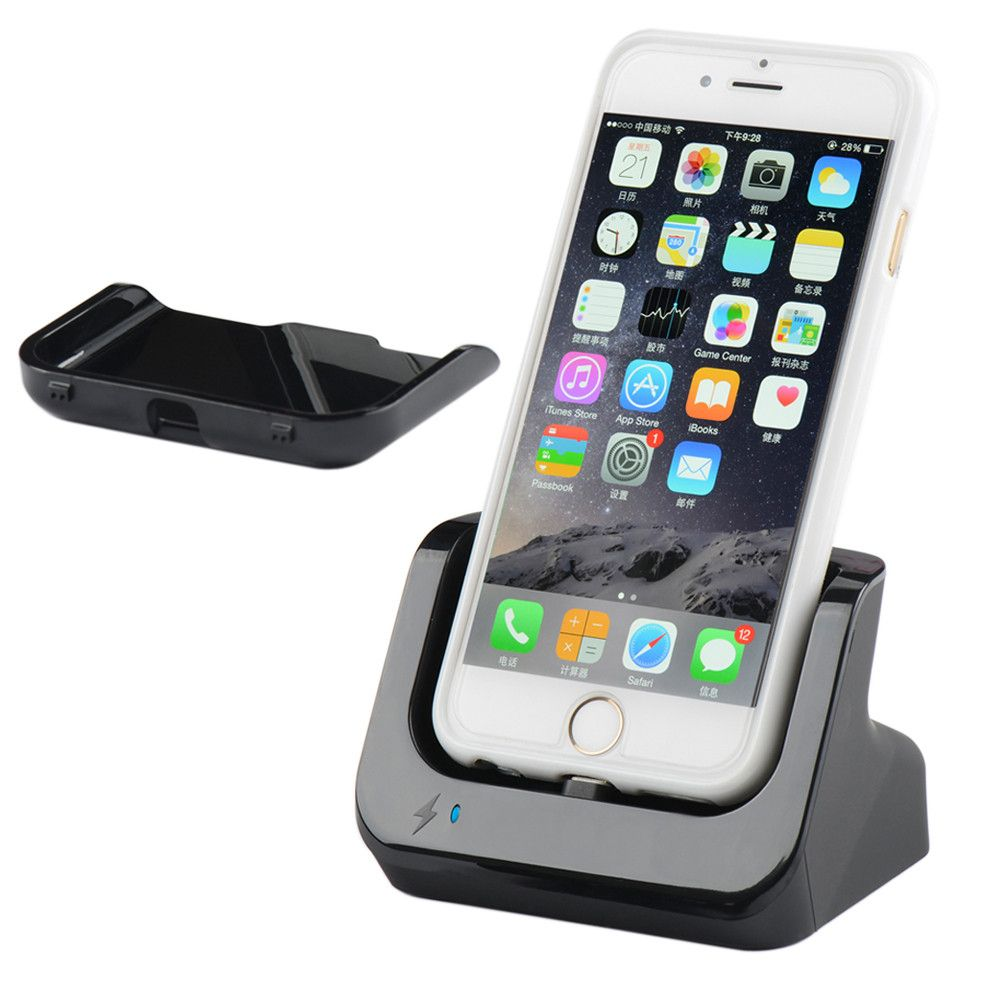 Us stocks /Sync Data USB Charger Dock Stand Station Cradle Charging Dock Station For iPhone 5 5s 5c SE 6 6S 7 8 Plus