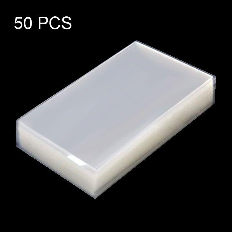 IPartsBuy Neue artikel 50 stücke OCA Optisch Klare Klebstoff für Galaxy Mega 6,3/i9200