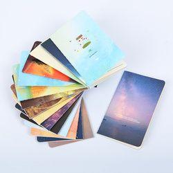 1 PC Fashion Bintang Notebook Botol Buku Diary Sekolah 80 K Jalur Mobil Portabel Notepad
