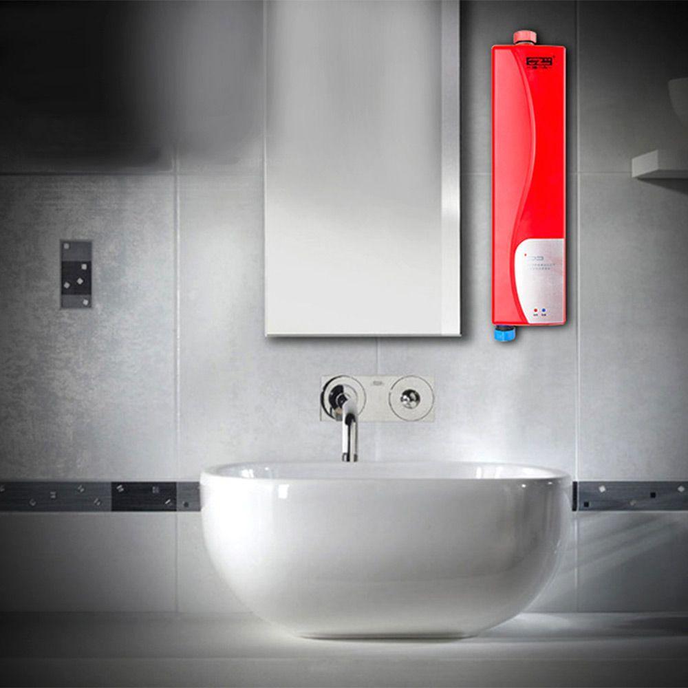 Gzu Высокое качество Электрический водонагреватель мгновение Душ tankless подогреватель воды для дома Кухня Ванная комната нагрева воды двойно...