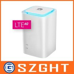 Huawei E5180-LTE Cube-Huawei E5180As-22 CPE LTE Routeur 150 Mbit/s LAN + livraison 2 pcs antenne