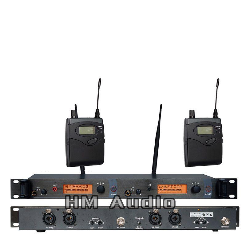 Moniteur d'oreille système sans fil SR2050 Double transmetteur surveillance professionnelle pour la Performance de scène