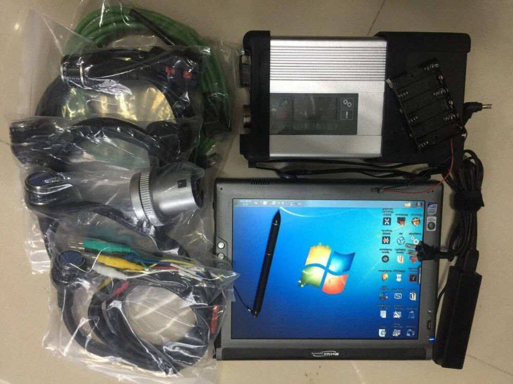 Top das dts star diagnosis mb sd c5 ssd the newest 2018.12v in tablet LE1700 (4g) diagnostic & programming tool sd c5 full set