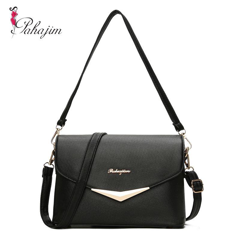Pahajim Fashion Women Bag Fresh Ladies <font><b>Handbags</b></font> Casual Crossbody PU Messenger Bags Teenagers College Sac