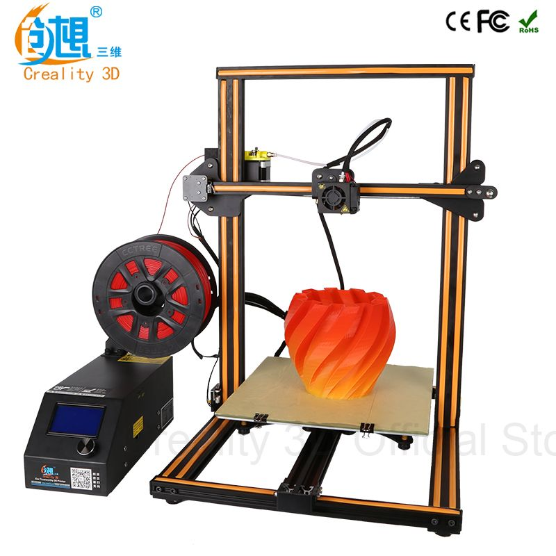 CREALITY 3D Printer CR-10 & Cr-10S Optional 3D Printer kits High Quality Desktop CNC Full Metal 3d printer with filaments Gift
