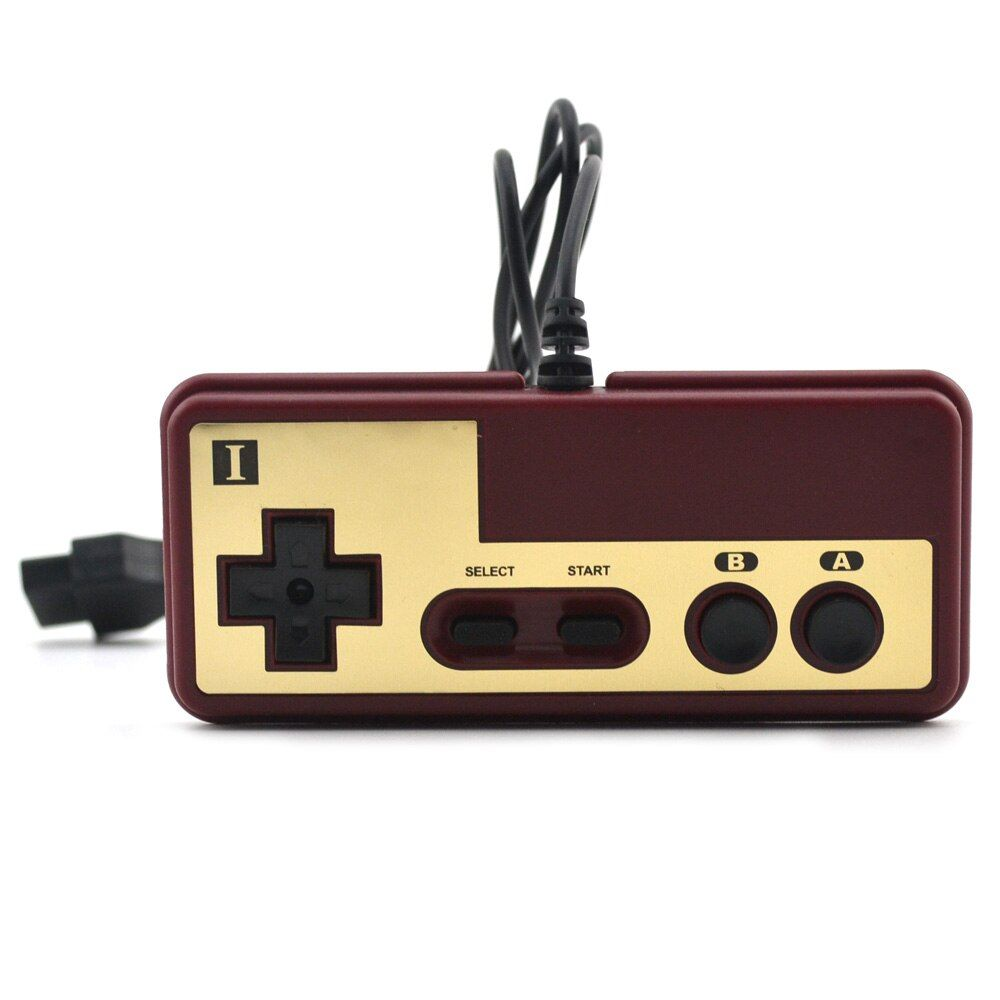 for Japanese 8-bit console style 15Pin Plug Cable Controller For NES For FC