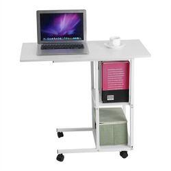 Extraíble portátil escritorio portátil libros sofá merienda aprendizaje cama portátil con ruedas oficina en casa