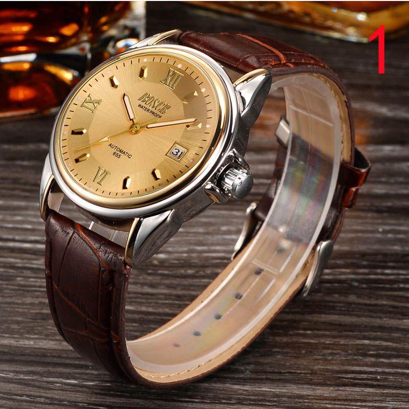 2018 new watch men's automatic mechanical watch men's watch hollow fashion trend luminous waterproof student watch