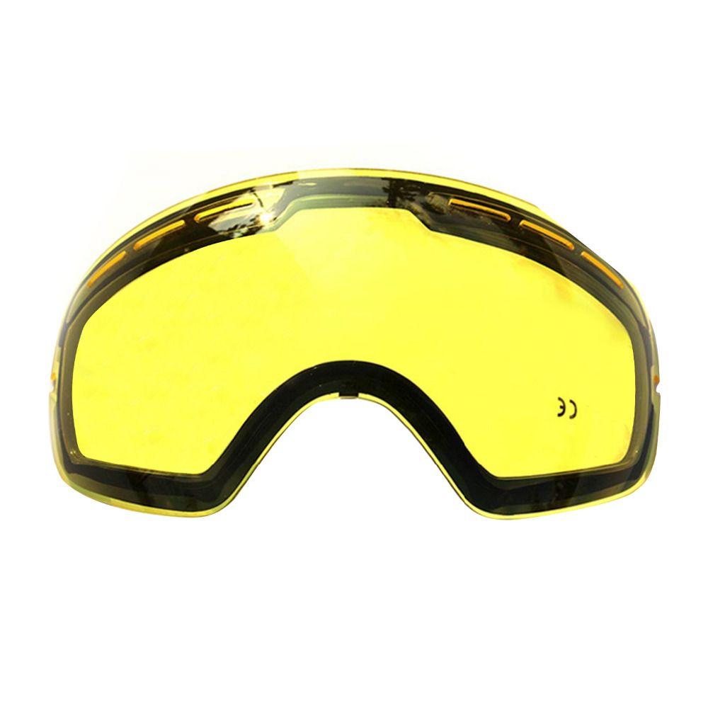 Double éblouissement lentilles Ski lunettes Polarisées professionnel ski lunettes peut être utilisé en conjonction avec d'autres lunettes drop shipping