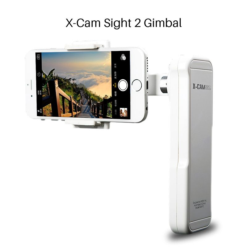 Ulanzi X-Cam Sight 2 Axis Smartphone Handheld Brushless Gimbal Video Stabilizer Mobile stabilizing Steadycam for iPhone Samsung