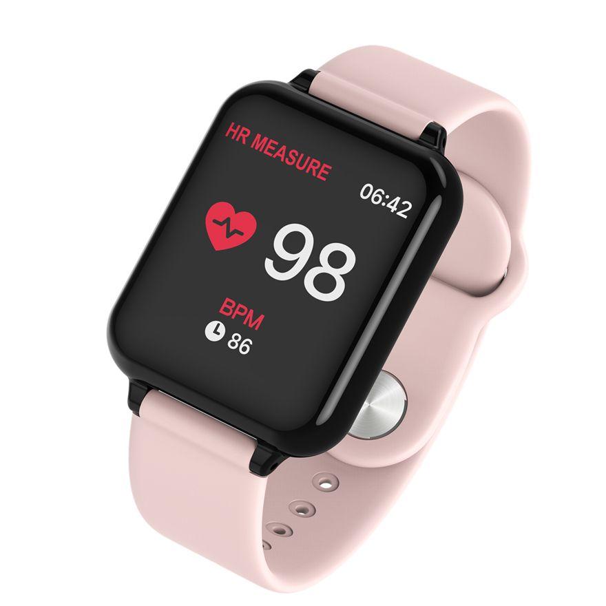 FROMPRO B57 Color Screen Smart Bracelet Sport Bluetooth 4.0 Blood Pressure Monitor Smart Watch Waterproof For Men Male WOMEN