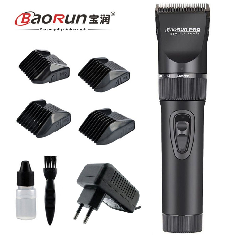 Professional Pet Hair Trimmer Electric Rechargeable Dog Grooming Clippers Shaver Cat Animal Hair Remover Ceramic Cutting Machine