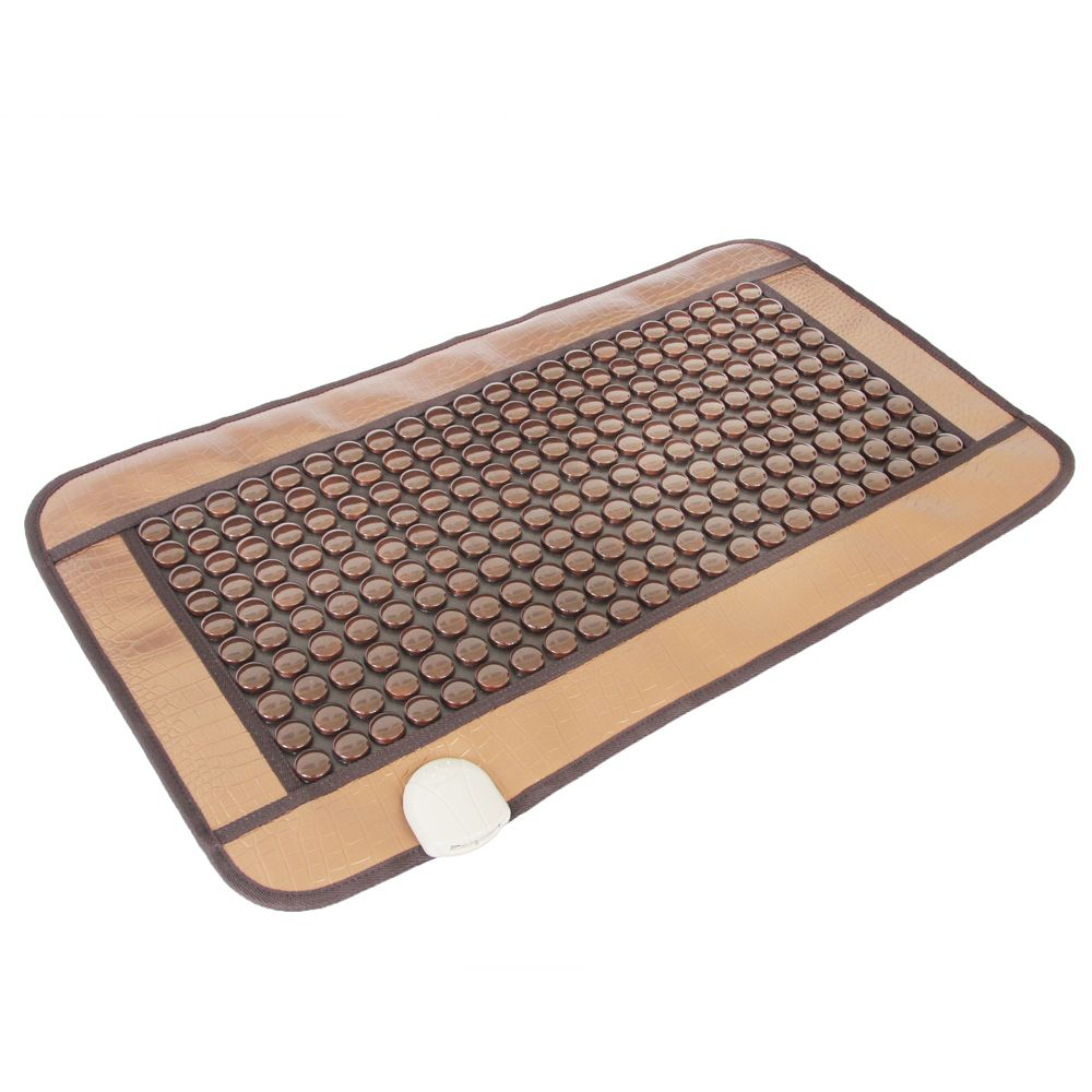 Free shipping POP RELAX heating tourmaline magnetic physiotherapy therapy flat PR-C06A Germanium stone mat 45x80cm