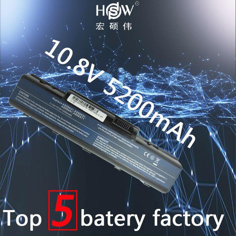 HSW Laptop Battery for ACER E525 E627 E725 D525 D725 D620 NV52 AS09A31 battery for ACER AS09A41 AS09A51 AS09A61 AS09A71 AS09A75