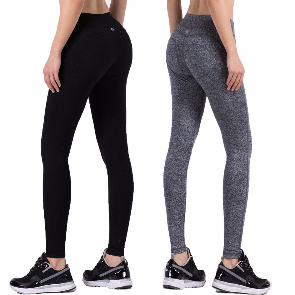 Women Solid Running Pants Compression Tights Sexy Hip Push Up Leggings Elasticity Slimming Fitness Yoga Pants Quick Dry Trousers