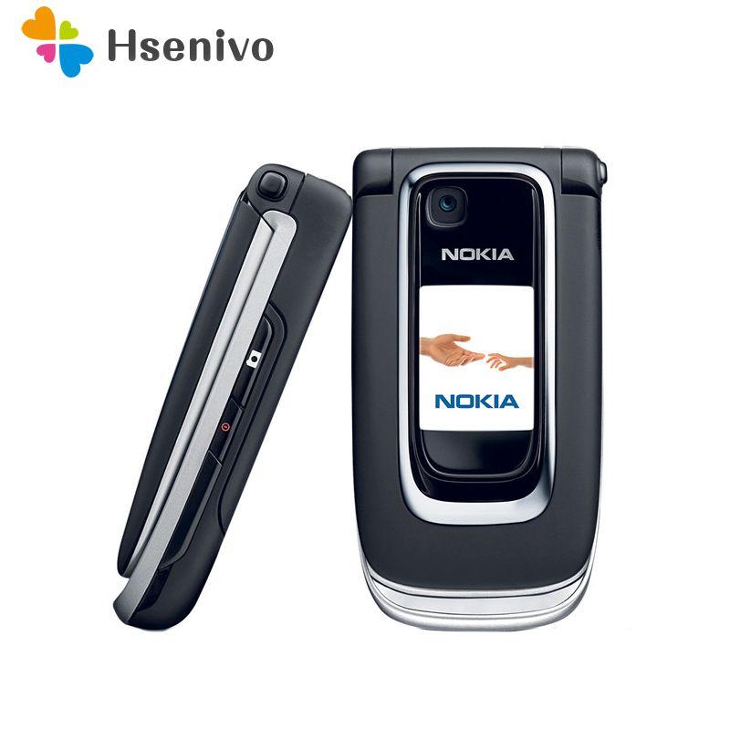 Freies verschiffen Entriegelte 6131 Original handy Nokia 6131 Günstige GSM Kamera FM Bluetooth Gute Qualität Telefon Multi Tastaturen