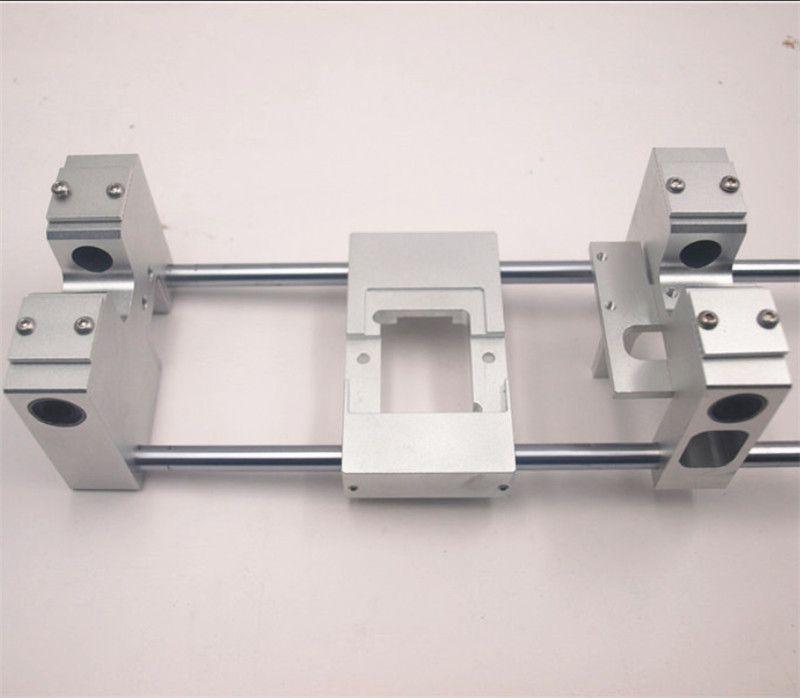 Funssor Aluminum X axis single Extruder Carriage RJ4JP-01-08 /8UU Y axis carriage kit For Replicator CTC Flashforge Upgrade kit
