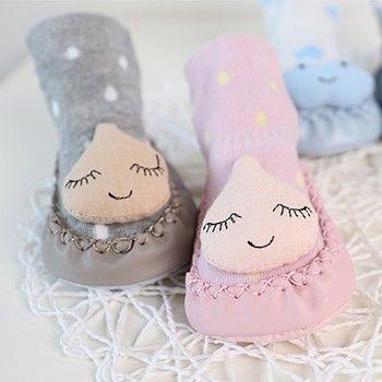 Baby Socks Cotton Cute Boys Girls Socks Fashion Clouds Star Raindrops Anti slip Step Socks Fashion Fall Winter