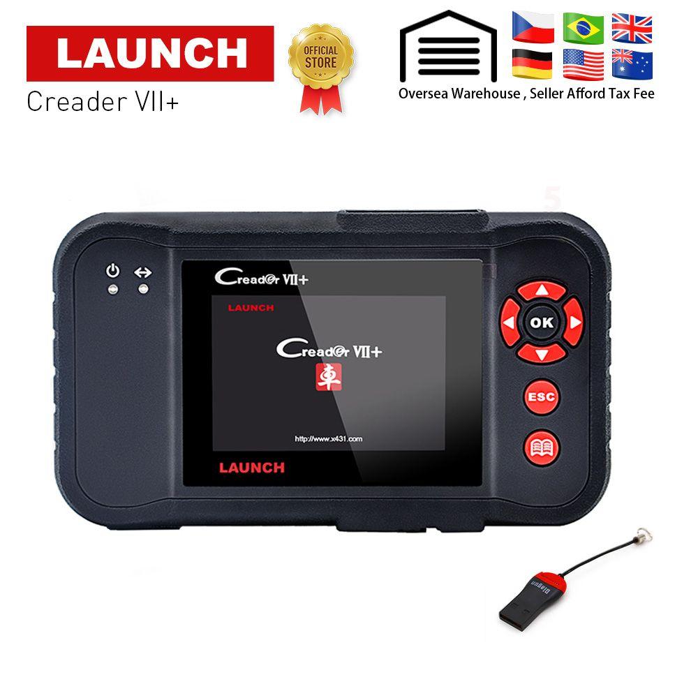 Starten X431 Creader VII Plus VII + Auto Code Reader OBD2 OBD 2 Scanner OBDII Diagnose Werkzeug Automotive Scan Tool gleiche wie CRP123