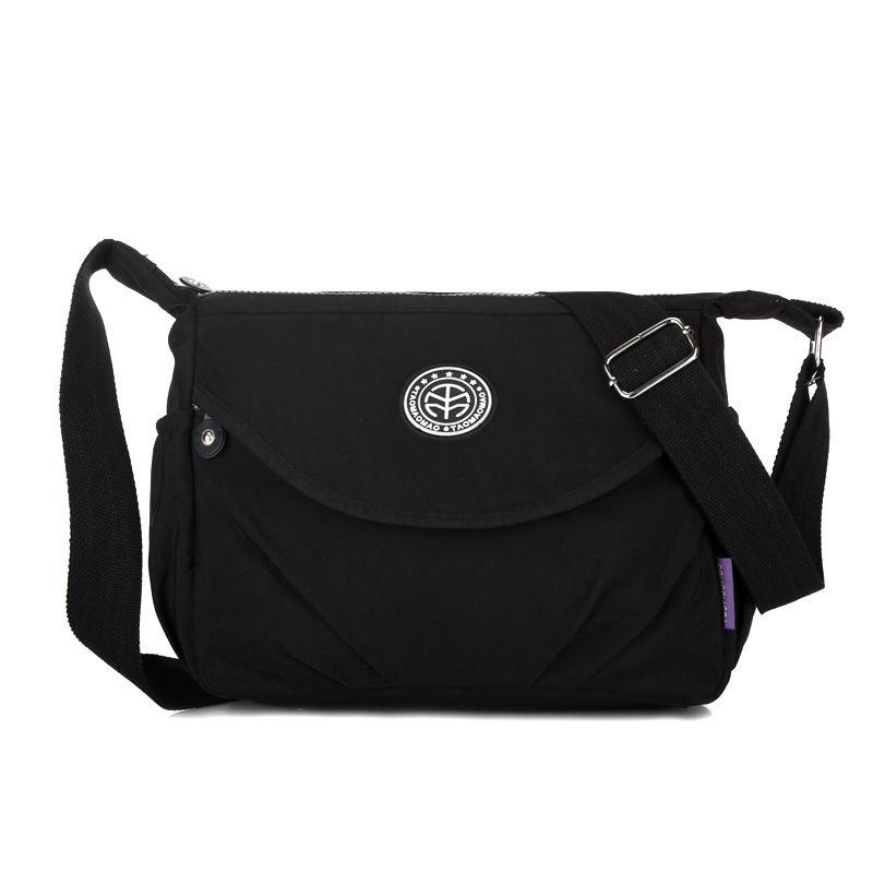 Сумочка Для женщин Курьерские сумки для Для женщин топ-ручка сумки Водонепроницаемый нейлон дамы плеча Crossbody сумки мешок основной bolsa feminina