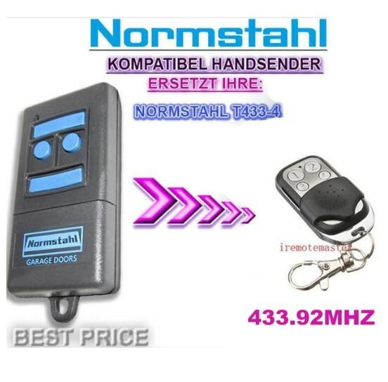FOR Normstahl T433-4 remote control top quality