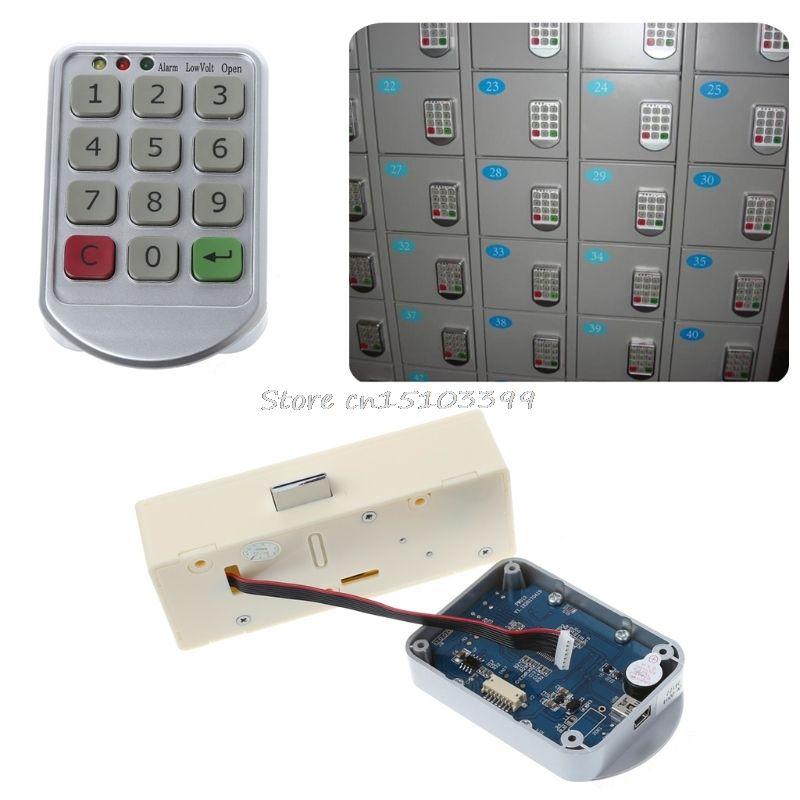 Электронно-цифровой пароль блокировки клавиатуры номер для двери шкафа ящик товара Замки Комбинации замок G25 Прямая поставка