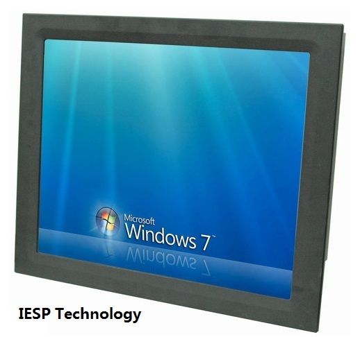 19 zoll Industrie Panel PC, 3317U CPU, 4 GB DDR3 RAM, 500 GB HDD, 4COM, 4USB, industrielle 5-draht touchscreen, Touch panel pc, HMI