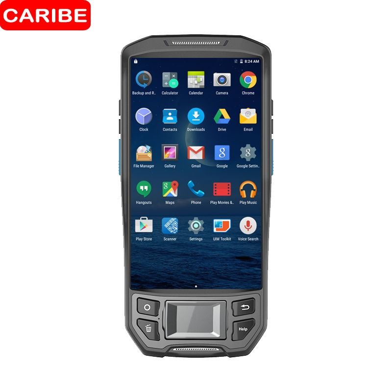 CARIBE 1D 2D Barcode Scanner PDA Wireless UHF NFC Reader Android bar code Laser scanner for Industry