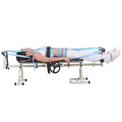 Baru Terapi Pijat Tempat Tidur Meja Serviks Lumbar Traksi Tidur Traksi Tidur Tubuh Peregangan Tulang Belakang Pergelangan Kaki Vertebra Kelelahan Kecil Injurie