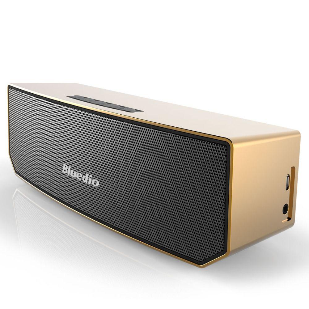 Bluedio Portable Speakers BS-3(Camel) Mini 4.1 Bluetooth Speaker 3D Stereo Music Surround Sound Column Box