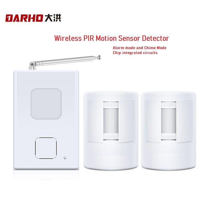 Darho dispositif de bienvenue boutique magasin accueil bienvenue carillon sans fil infrarouge IR capteur de mouvement porte cloche alarme entrée sonnette atteindre 300m