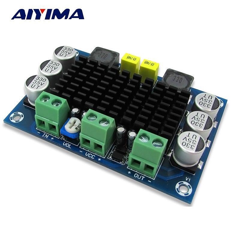 Aiyima TPA3116 D2 Digital Audio Amplifier Board Mono 100W Amplifiers DC12-26V Amplificador DIY