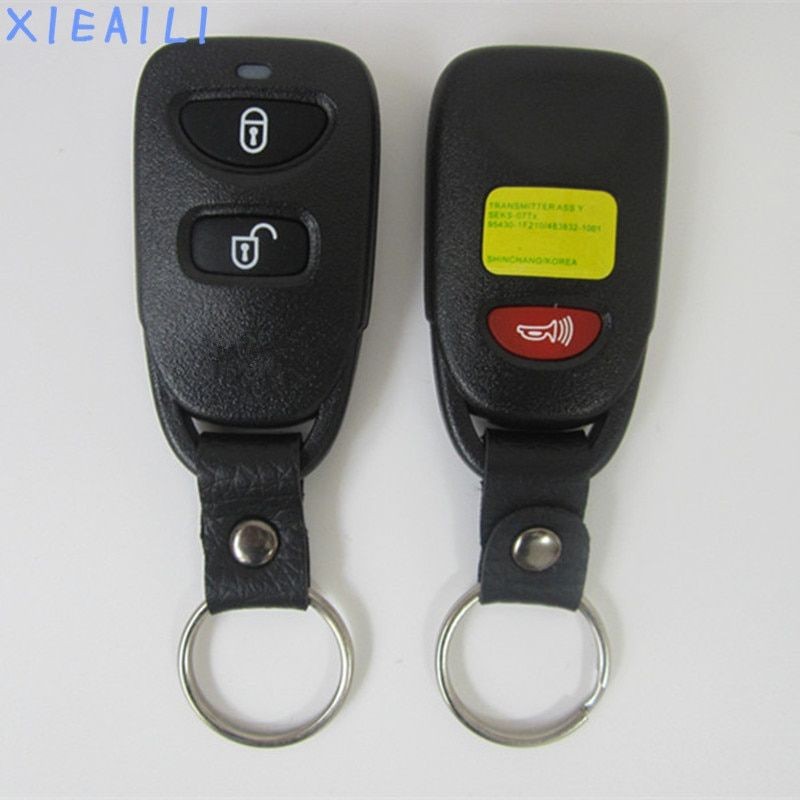 XIEAILI OEM 2+1Button Remote Key Control For Hyundai Tucson With 433Mhz No Battery   S202