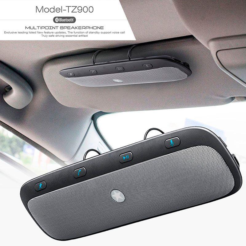 10 M Sans Fil Bluetooth Mains Libres Voiture Kit Haut-Parleur Audio Musique Haut-Parleur pour iPhone samsung Smartphones Voiture Bluetooth Mains Libres