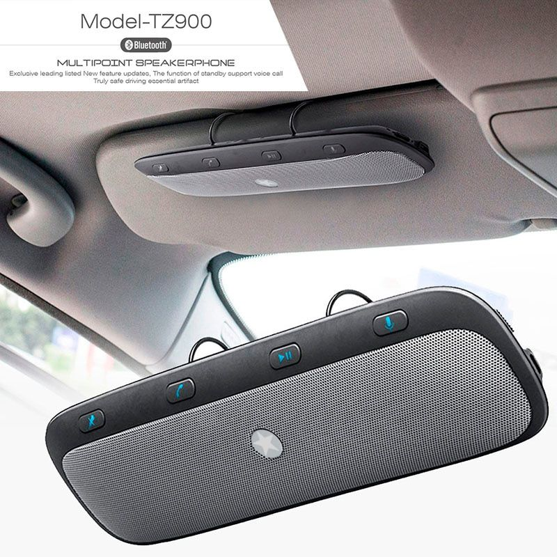 Kit mains libres Bluetooth sans fil 10 M haut-parleur Audio haut-parleur de musique pour iPhone samsung Smartphones voiture Bluetooth mains libres