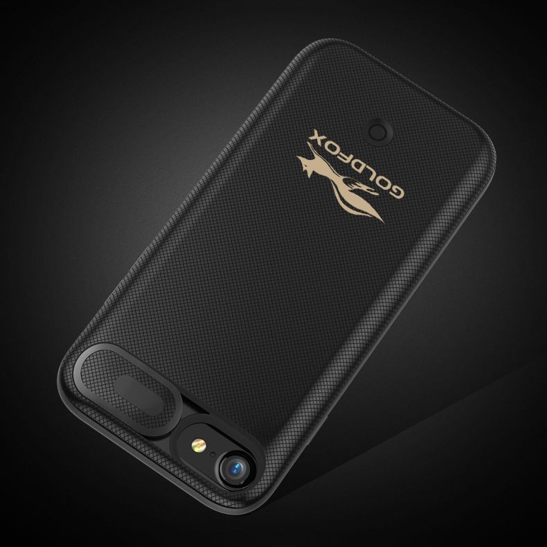 Goldfox 5500mAh Ultra Thin Extra Backup Case For iPhone 6 6S 7 8 4.7inch Power Bank Cover Battery Charger Case Battery Charge
