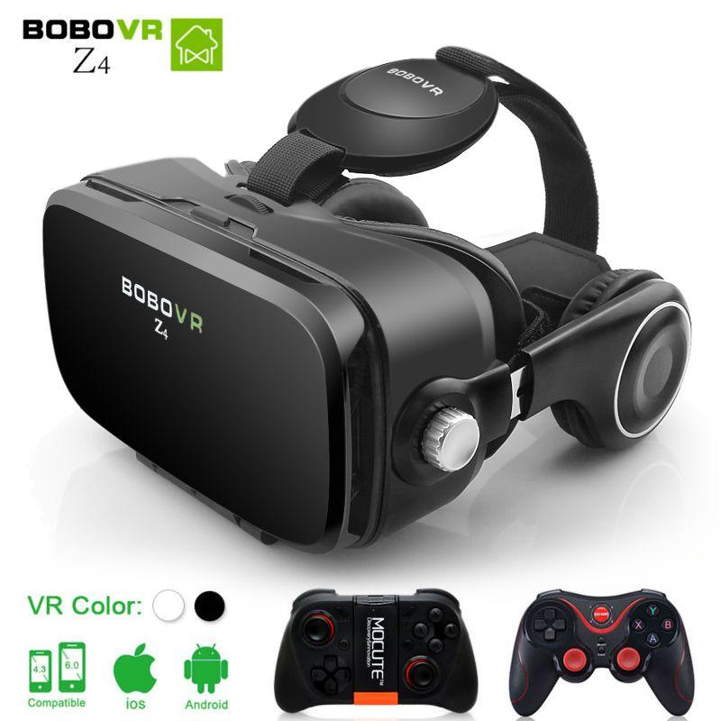 VR BOBOVR Z4 BOX 2.0 lunettes 3D lunettes de réalité virtuelle google carton BOBO VR casque pour smartphones de 4.3-6.0 pouces