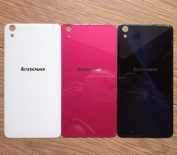 For Lenovo S850 Case Battery Back Cover Glass Rear Door Replacement Housing STICKER Adhesive Fundas For Lenovo S 850 S850T Cover