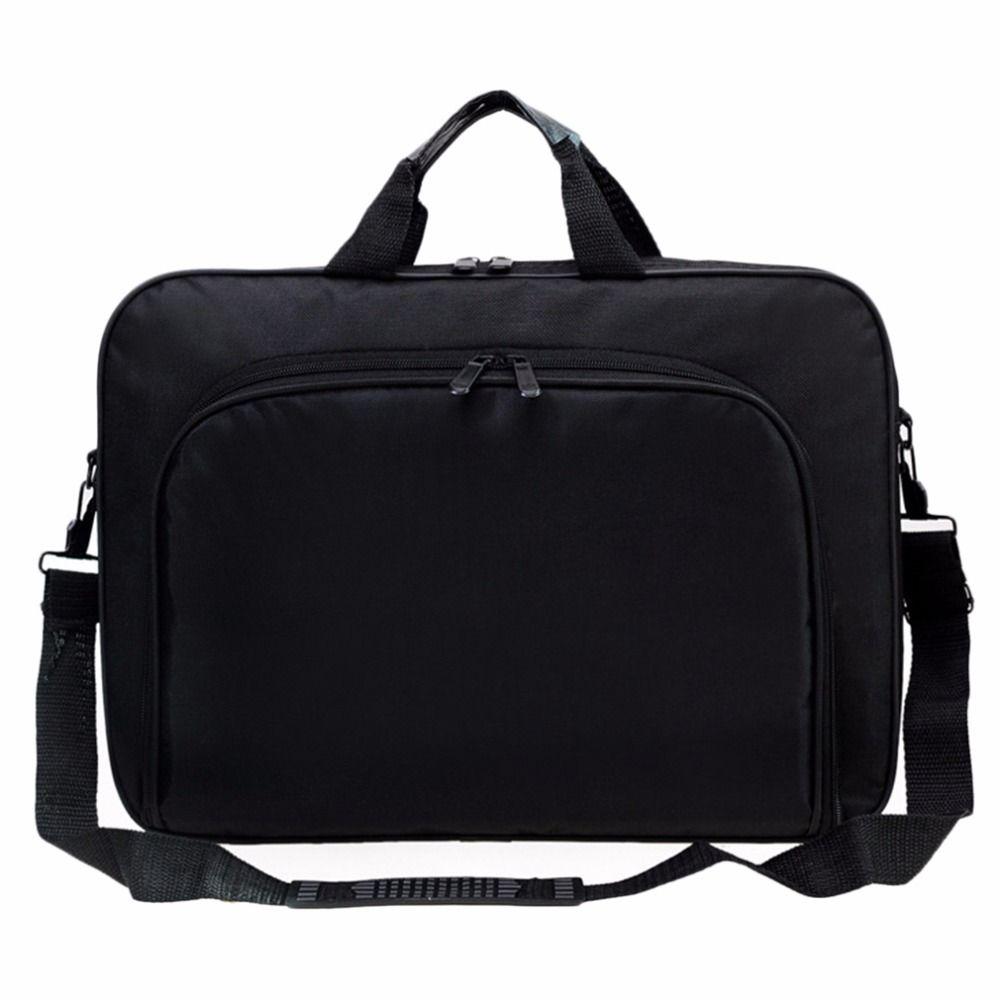 NEW Portable Business Handbag Shoulder Laptop Notebook Bag Case Multifunction for  men women Durable