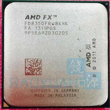AMD FX-Serie FX-8350 FX8350 4,0G 125 Watt FX 8350 FD8350FRW8KHK Acht CORE Socket AM3 +
