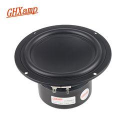 GHXAMP 5 inch 8OHM Subwoofer Woofer Speaker Linen Cone Hifi Surround Home Theater Bookshelf BASS SoundBox DIY 30W 60W 1pc
