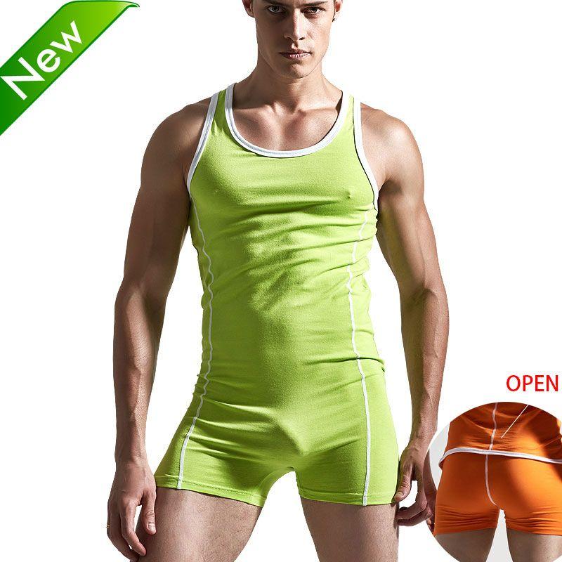 Superbody Sexy maillot de corps justaucorps hommes body bas de corps combinaison sexy maillot de bain shaper gay club combinaison singlet
