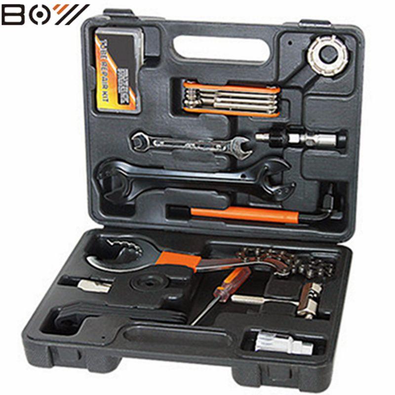 Fahrradreparaturwerkzeuge für die wartung von mountainbike reparatur kombinationswerkzeug Kits bike Multifunktions repair tool Anzüge