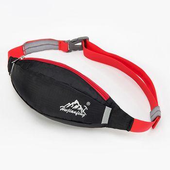 Unisex Outdoor Sports Running Jogging Backpack Bum Bag Travel Waterproof Handy Hiking Sport Waist Belt Zip Fanny Gym Backpack