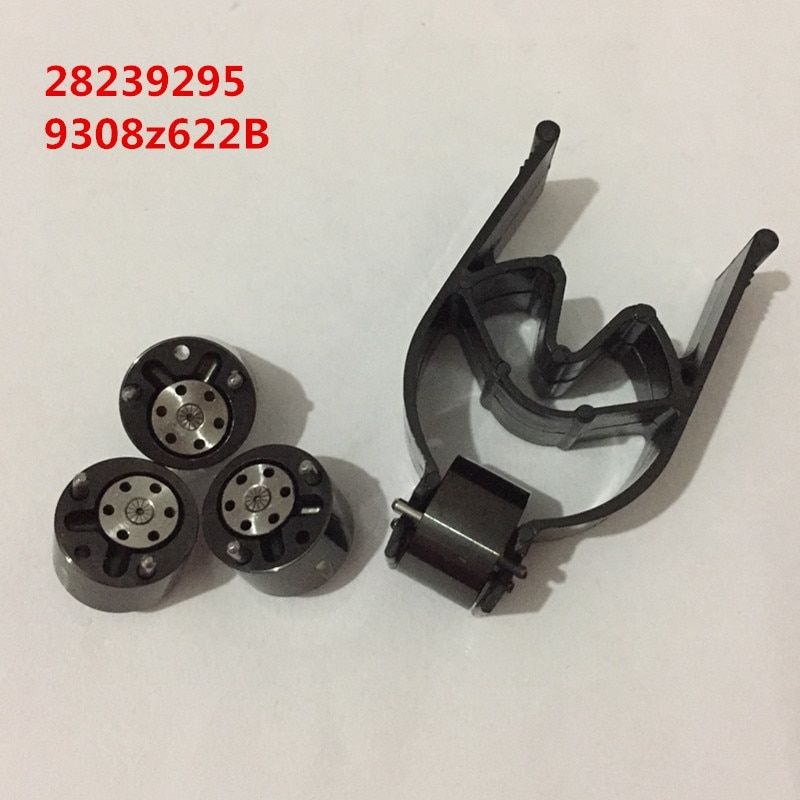 Free shipping black coating quality fuel injector nozzle control valve 28239295 9308-622B 28278897 common rail control valve