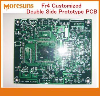 Bateau rapide FR4 Personnalisé Double Side Prototype PCB Circuit Imprimé Fabrication et L'assemblée La Production De Petites séries pcba