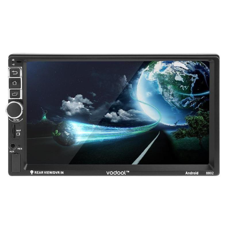 VODOOL 7 zoll Touchscreen 2Din Android Digital Display Auto GPS Navigator MP5 Player Unterstützung Bluetooth TF USB FM Kamera qualität