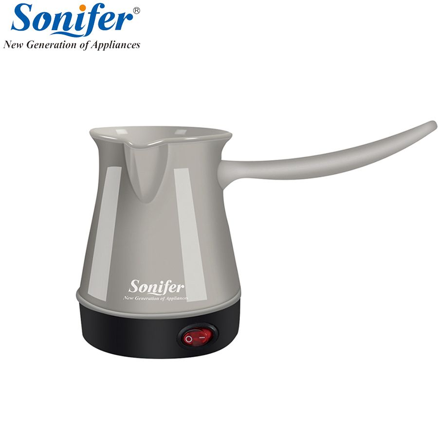 Colorful mini Coffee Machine Turkey Coffee Maker portable Electrical Coffee Pot Food Grade Coffee Kettle for Gift Sonifer