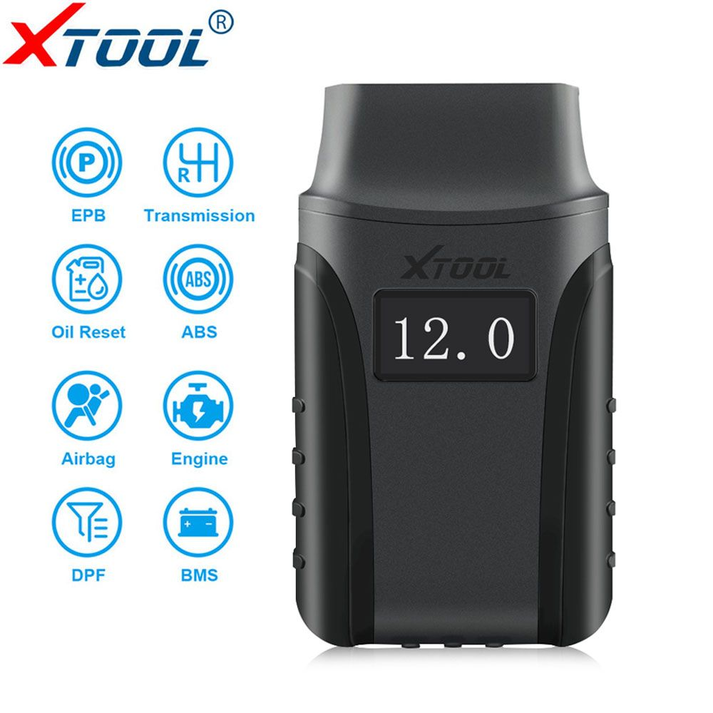 XTOOL A30 Alle System Auto Detektor OBDII Code Reader Scanner Für EPB Öl Reset Diagnose-Tool Für Android/IOS system Bluetooth