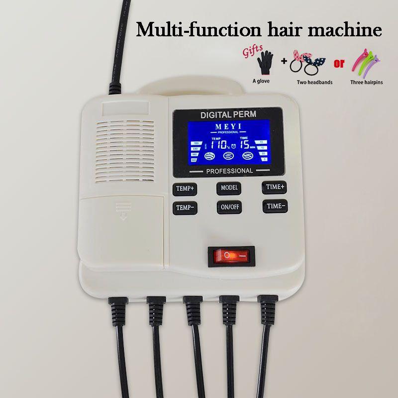 Hair Curler Machine 110-220v Hanging Perm Machine Multifunction curler LCD Display Liquid Perm Roller Machine A19